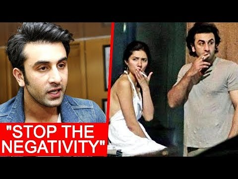 Ranbir Kapoor SUPPORTS Mahira Khan On Smoking Pics