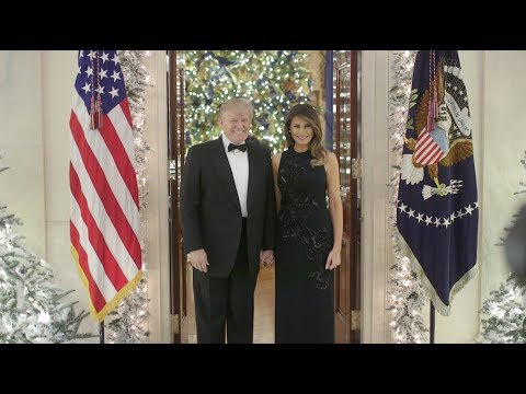 0 President Donald Trump and First Lady Deliver Christmas Message
