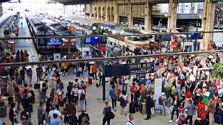 Video Paris Gare du Nord  - The Busiest Station in Europe ! MP3, 3GP, MP4, WEBM, AVI, FLV Oktober 2017