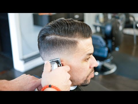 How to Fade Difficult hair  ★ Barber Tutorial