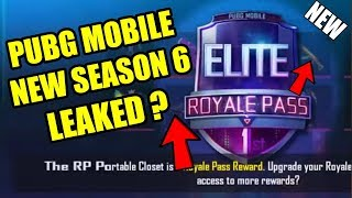 PUBG MOBILE NEW SEASON 6 ROYALE PASS LEAKED ? NEW DANCE EMOTES! ! NEW GUN SKIN AND MORE ?