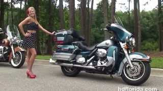 3. Used 2004 Harley Davidson Ultra Classic Electra Glide Motorcycles for sale  - Ocala, FL