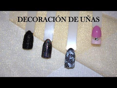Decoracion de uñas - Decoración de uñas fácil y rápido
