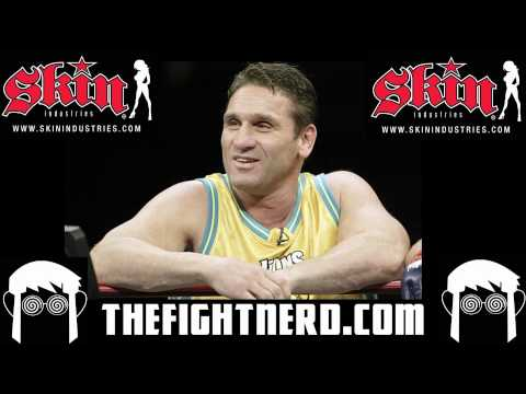 Ken Shamrock talks steroids  upcomming fight vs Pedro Rizzo