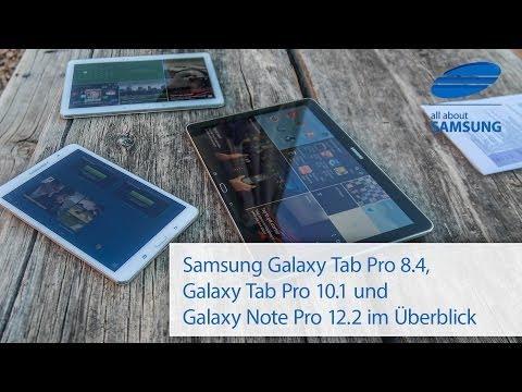 Samsung Galaxy Tab Pro 8.4, Tab Pro 10.1 und Note Pro 12.2 Überblick im Grand Canyon