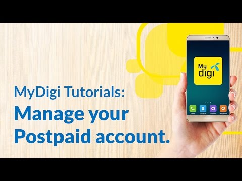 Pay your Digi Postpaid™ bills with the new MyDigi app thumbnail