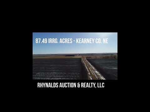 78.49 Irrg. Acres Kearney Co. Farm Land - FOR SALE