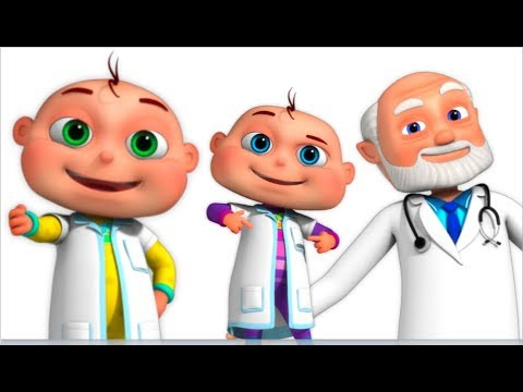 Five Little Babies Dressed As Doctors (Single) | Zool Babies Fun Songs | Videogyan 3d Rhymes