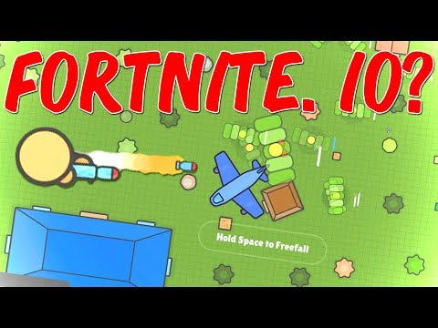 FORTNITE.IO?! - Zombs Royale Dansk io Spil