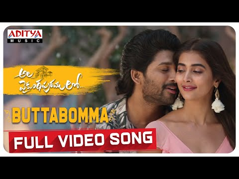#AlaVaikunthapurramuloo - ButtaBomma Full Video Song (4K)   Allu Arjun   Thaman S   Armaan Malik