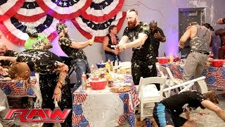 Nonton A Food Fight Erupts During Wwe S Pre Raw Fourth Of July Barbecue  Raw  July 4  2016 Film Subtitle Indonesia Streaming Movie Download