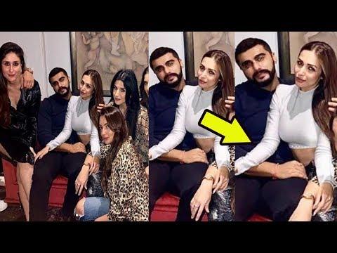 Malaika Arora Gets Cosy With Boyfriend Arjun Kapoor at a Party