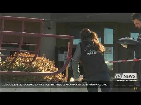 21/01/2020 | LE TOLGONO LA FIGLIA, SI DA' FUOCO: MAMMA GRAVE IN RIANIMAZIONE
