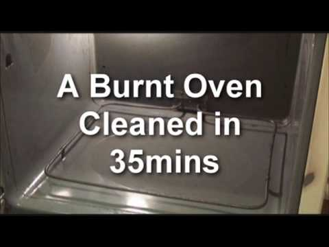 how to clean the oven youtbue