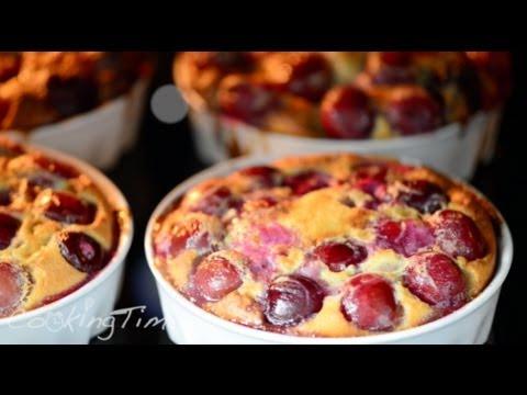 Клафути - французский пирог с черешней