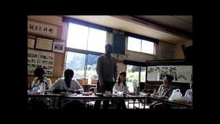 Shibukawa Japan  City pictures : Thanking Speech by Alain Doh Bi, Shibukawa, Japan, 8aug2013