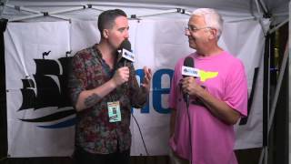 David Martineau of Bearstronaut interview at I AM Festival 2015