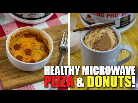 2 HEALTHY MICROWAVE MEAL RECIPES