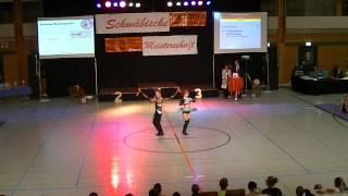 Janique Steiner & Jascha Steiner - Schwäbische Meisterschaft 2013