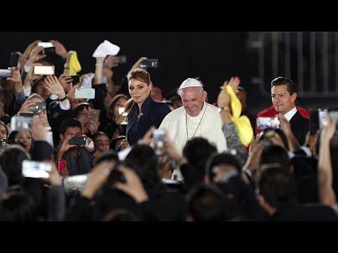 Ολοκλήρωσε το ταξίδι του στο Μεξικό ο Πάπας Φραγκίσκος