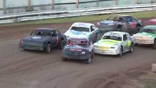 2014 Chilton Fall Invite Heat Race Action