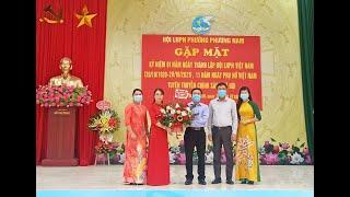 Hội LHPN phường Phương Nam gặp mặt kỷ niệm 91 năm thành lập Hội LHPN Việt Nam