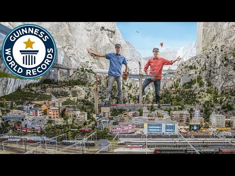 Miniatur Wunderland: Largest Model Train Set - Meet The Record Breakers