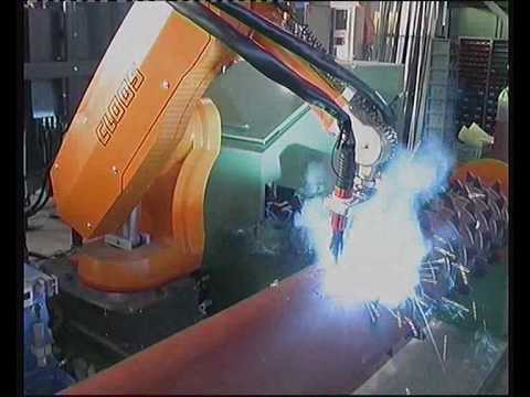Cloos Robotic Welding – System Examples 1