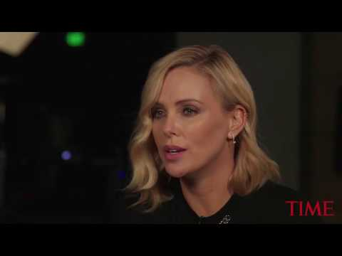 Actress Charlize Theron says she cracked three teeth while