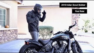 2. Owning my first Motorcycle (2019 Indian Scout Bobber ABS)