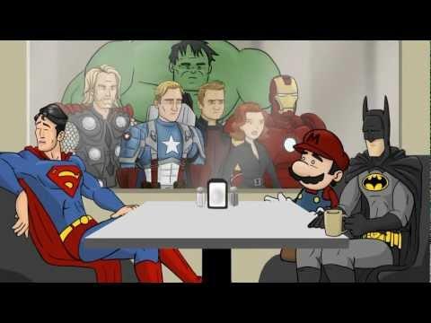 All Superhero Café Clips – HISHE