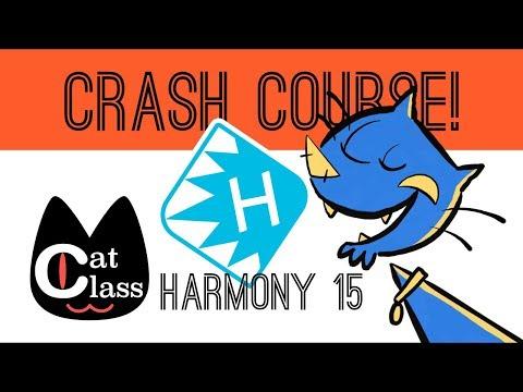 Toon Boom Harmony 15 Crash Course - Cat Class