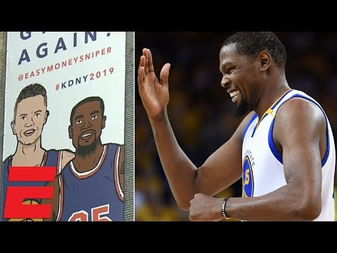Will Kevin Durant land with the Knicks? | SportsCenter