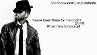 Usher - Follow Me [Lyrics Video]