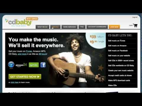 How To Sell Vinyl Records Online At CD Baby!