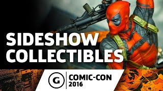 Sideshow Collectibles Showcase at Comic-Con 2016 by GameSpot