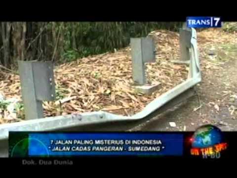 On The Spot 7 Jalan paling misterius di indonesia