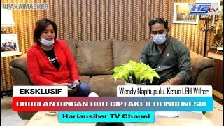 Eksklusif, Obrolan Ringan RUU CIPTAKER 2020 Di Indonesia Bersama Wendy Napitupulu