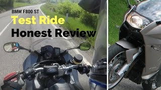 1. BMW F800 ST - Test ride and Review
