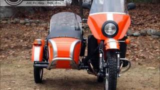 7. Ural Patrol Orange-Silver Customized by Ural of New England