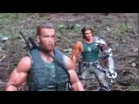 """minutes of the best scenes from the movie """"Predator,"""" starring"""