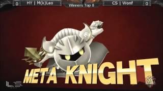 The Arena 2016 – HY | Leo (Meta Knight) Vs. CS | Wonf (Bayonetta) Winners Semis – Smash Wii U