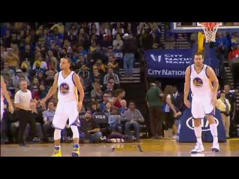 Video: Bogut and Curry with a Beautiful Give-and-Go