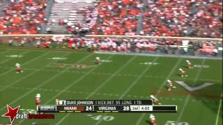 Duke Johnson vs Virginia (2012)