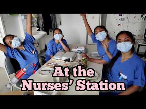 Filipina Nurse in Germany. On duty! Laban lang mga ka Negs!