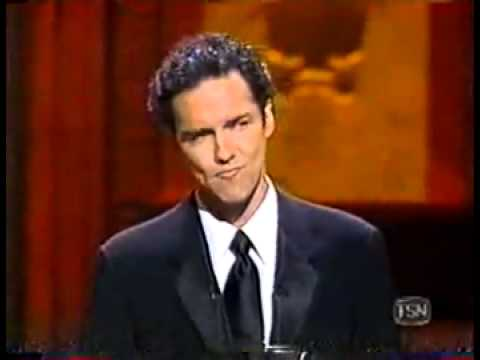 Norm MacDonald at the 1998 ESPYs where he destroys everyone.