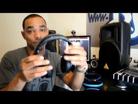 SMS Audio Street By 50 DJ Pro Headphones HD-Video Review (DJbooth.net)