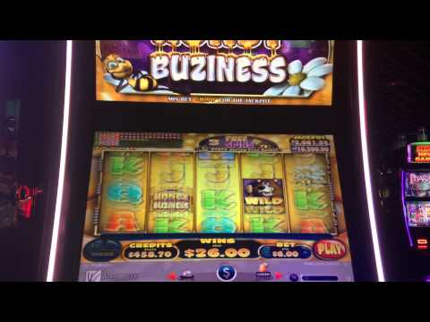 Honey Buziness Slot Machine Bonus Win Max Bet