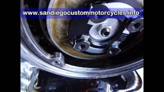 8. how to change primary case motorcycle oil