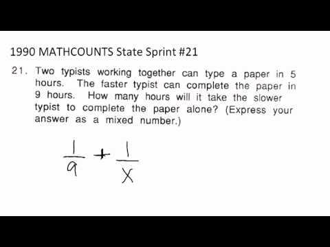 Mathcounts State Sprint3